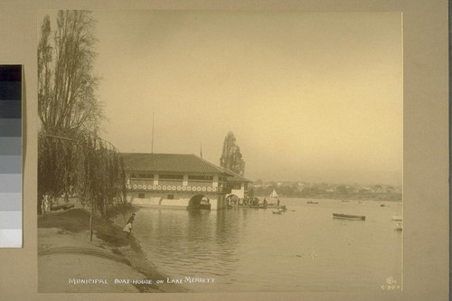 Municipal Boat-house on Lake Merritt