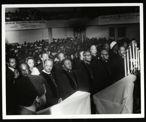 Audience at an unidentified COGIC conference, Memphis