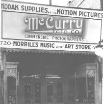 McCurry's Foto Store and Morrill's Music and Art Store