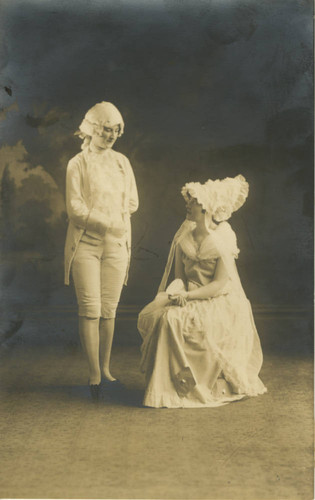 Mary Jane Garrison and Alice Walsh in Mannikin & Minnikin