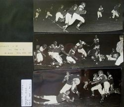 Analy High School football, fall 1952--Analy Tigers vs Tamalpais at Analy on November 18th, 1952