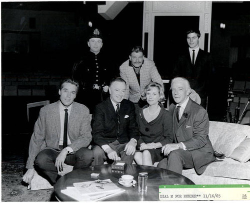 Dial M for murder cast photo, 1965