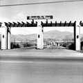 Entrance To Rancho De Napa Mobile Home Estates Yountville California Ca 1971