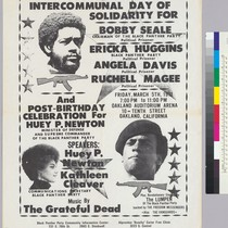 Revolutionary intercommunal day of solidarity for Bobby Seale, Erika Higgens, Angela Davis ...