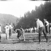 Johnsons: Stick game in 1926