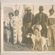 Unidentified family; Hat Creek, Shasta Co.; 12 September 1907; 10 prints