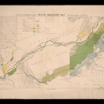California State irrigation map: Riverside sheet, 1888