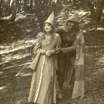 Actors in the Mountain Play's 1922 production of The Pied Piper, on ...