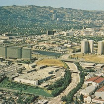 Aerial view of Century City