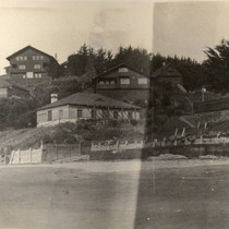 The cottages at Bolinas, Marin County, California, March 1913 [photograph]