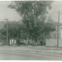 Buildings and Cars on Unidentified Street