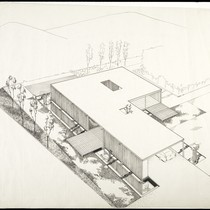 Aerial Perspective Presentation Drawing