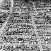 Aerial view of Albany, c. 1962