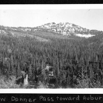 Below Donner Pass toward Auburn