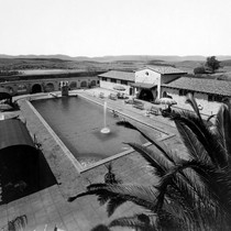 Aerial photograph of Murrieta Hot Springs.