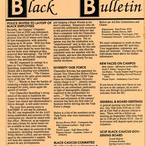 Flyer - Racial behavior and layoff of African Americans employees