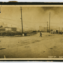 1906 San Francisco earthquake, panorama of East St