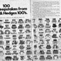 100 new sweepstakes from Benson & Hedges 100's. Once again, we've gone ...