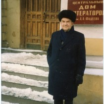 M. Norvel Young at the Russian-American Writers Conference, 1985