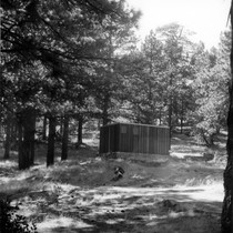 Building in campground area in Cuyamaca Park