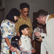Ariel Sarreal First Communion