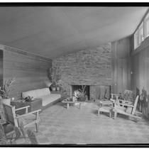 Turner, George, residence. Living room
