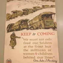 World War One American poster collection