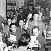 Beer Party at the Santa Ana Army Air Base