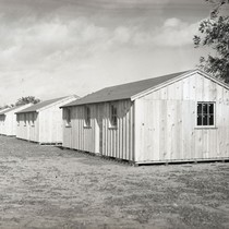 Five labor camp buildings at Spreckels Sugar Company, Woodland California