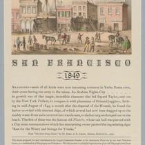 """San Francisco, 1849"""