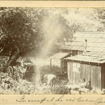 The Howard Cottage in Bear Valley, Marin County, California, circa 1897 [photograph]