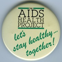 AIDS Health Project button