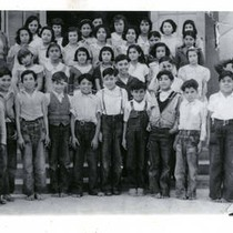 Fred Barrera Class Photograph (Front)