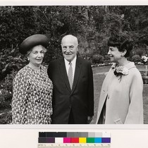 [Elise and Walter Haas with an unidentified woman.]