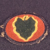 24th Infantry insignia patch