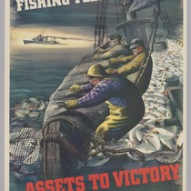 America's fishing fleet and men...assets to victory