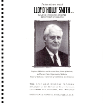 "Interviews with Lloyd ""Holly"" Smith M.D.: Building a Research-Oriented Department of Medicine"