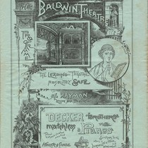 [Cover of Baldwin Theatre program]