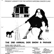 2nd Annual Dog Show and Parade flyer