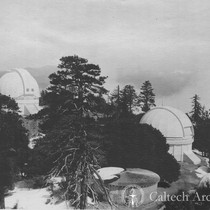 "100"" and 60"" domes at Mt. Wilson"