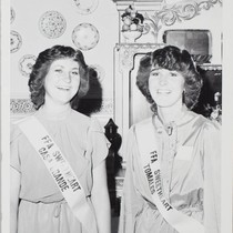 1982 FFA Sweethearts at the Sonoma County Fair, Santa Rosa, California