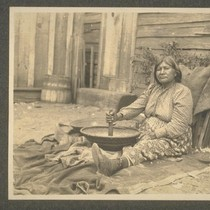 Woman; Russian River, Sonoma Co.; 19 August 1905; 1 print, 1 negative