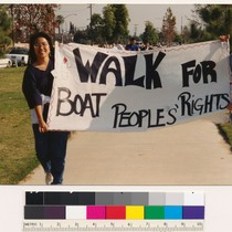 Walk for boat people's rights