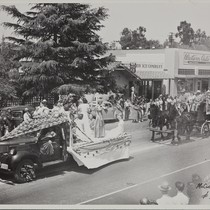 The 1947 Cherry Festival Parade, Women and truck float