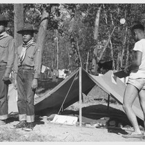 A 5-day Boy Scout Camp on the bank of the Mississippi River ...