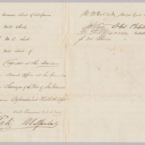 Petition to Abraham Lincoln by San Francisco citizens for appointment of Theodore ...