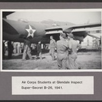 Air Corps students at Glendale