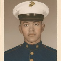 Albert Aviles, US Marine portrait, Camp Pendleton, California