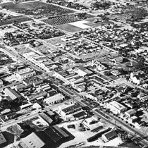 Aerial View of Downtown Chula Vista