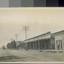 Chinatown, Gilroy. 1911. [Chinese commercial district.]